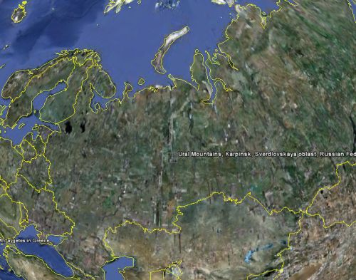 Hunnic Empire - Ural Mountains to the East |Where Are The Ural Mountains Located